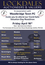Roadshow valuation Day flyer woodbridge