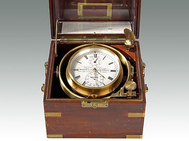 Marine Chronometer by William sold by Suffolk auction house Lockdales