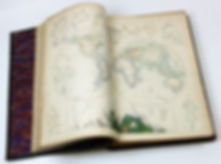 The Royal Illustrated Atlas of Modern Geography sold by Suffolk auction house Lockdales