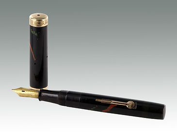 Dunhill Namiki fountain pen from the 1930s sold by Suffolk auction house Lockdales