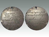 Australian transportation convict token sold by Lockdales auction house in Suffolk