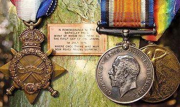 Medal given to soldier killed on the first day of The Somme sold by medal auctioneers Lockdales