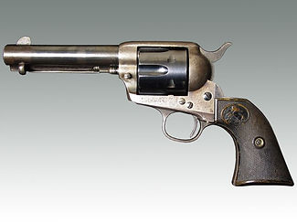 19th century American Colt 'Peacemaker' pistol sold by militaria auction house Lockdales