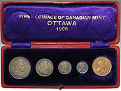 First Coinage of Canadian Mint, Ottawa, sold at Suffolk auctioneers Lockdales