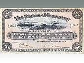 The States of Guernsey One Pound sold by Suffolk auction house Lockdales