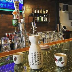 house sake #yummy #sanantonio #asianfusion #sake