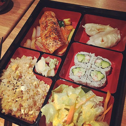 🎉📢lunch specials! Monday - Saturday 11a-2_30p! Bento box starting from $8