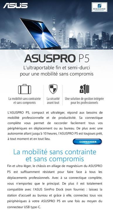 Portable AsusPro P5