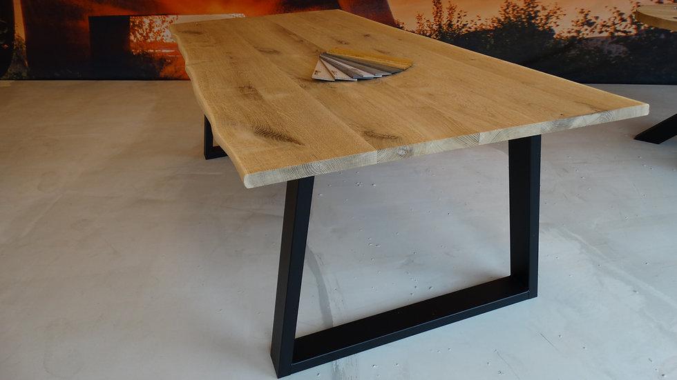 Eiken tafel oldstyle 30mm