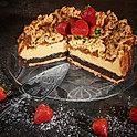 Rhubarb or Plum cake