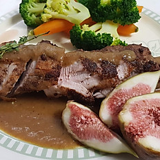 Pork Tenderloin in Fig Sauce