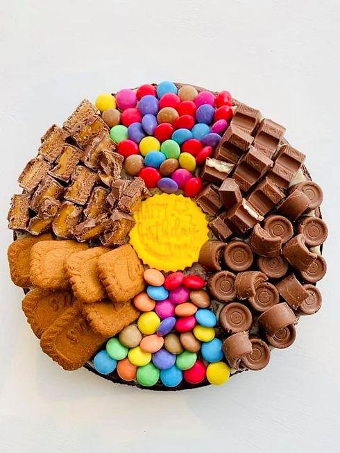 Chocolate Brownie Pizza