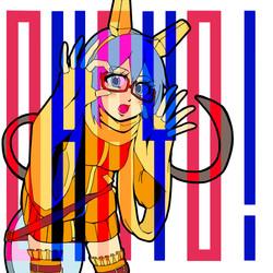 Vocaloid同人CD「OHAYO!」イラスト