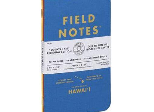 Field Notes County Fair Edition - Hawai'i 3 Pack