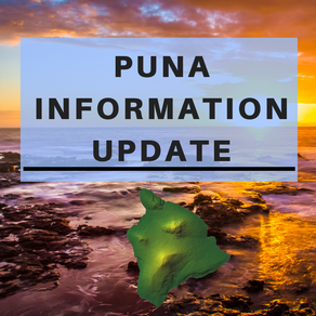 Puna Information Update for April 15th, 2019