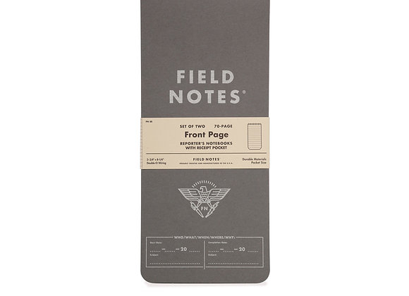 Field Notes - Front Page Notebook 2 pack