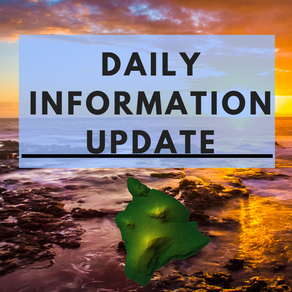 Hawaii Island Information Update # 2 for April 10th, 2019