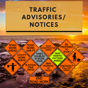 Hawaii Island Lane Closures for week of April 13th to 19th, 2019