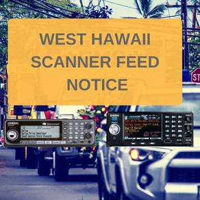 West Hawaii Scanner Notice for January 4th, 2021