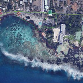 Kahalu'u Beach Closure Notice for May 2021