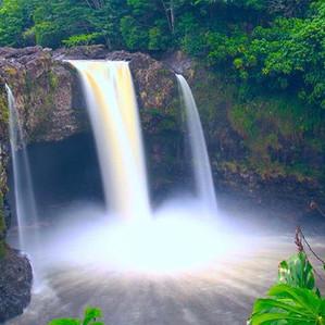 Waianuenue Falls (Rainbow Falls)