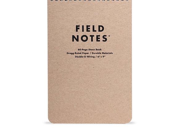 Field Notes 80 Page Steno Book