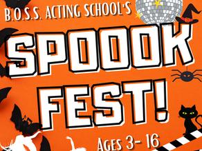 BOSS SPOOK-FEST announced...
