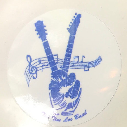 The Tim Lee Band Sticker