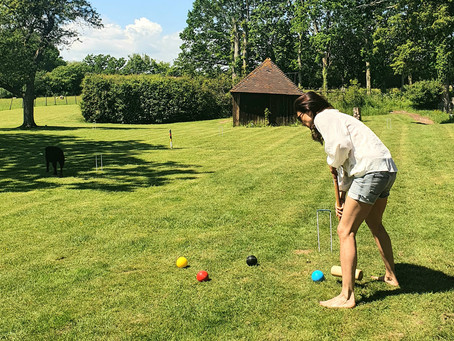 Anyone for Mind Stretching Croquet?
