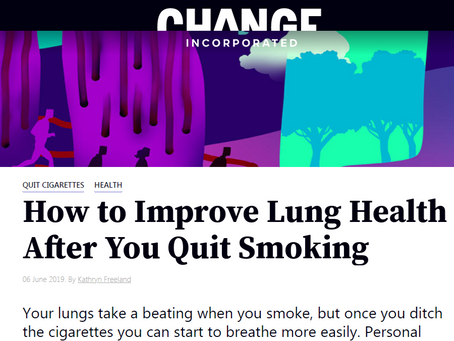 How to get lung fit when you quit