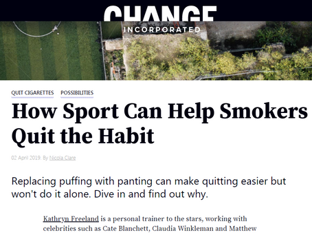 How sport can help smokers quit the habit