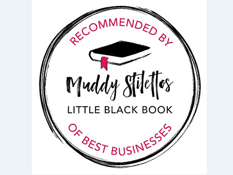Delighted to be recommended...