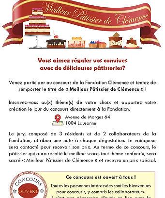 Flyer Meilleur Pâtissier de Clémence_p