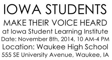 Iowa Students Make Their Voice Heard