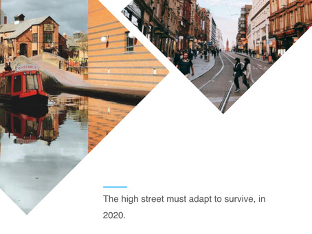 The high street must adapt to survive, in 2020.