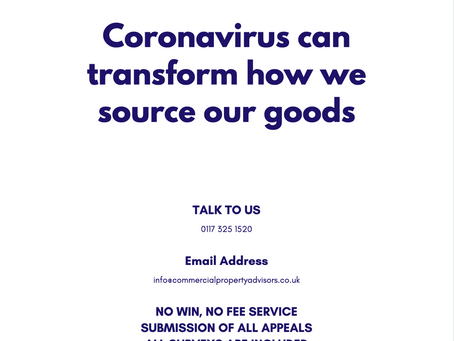 Coronavirus can transform how we source our goods