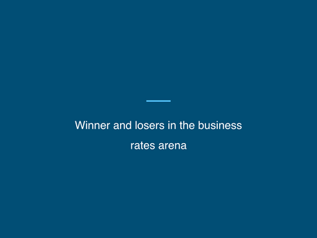 Winner and losers in the business rates arena