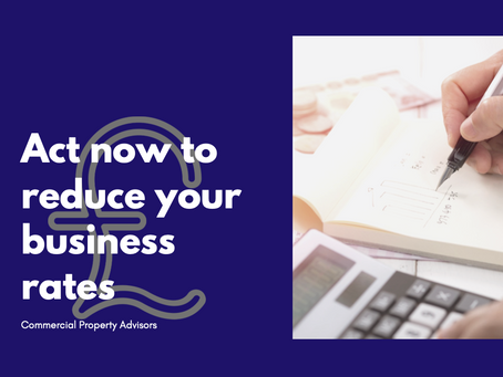 Act now to reduce your business rates