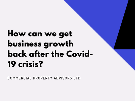 How can we get business growth back after the Covid-19 crisis?