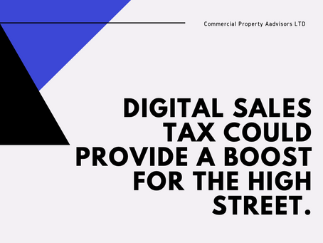 Digital sales tax could provide a boost for the high street.