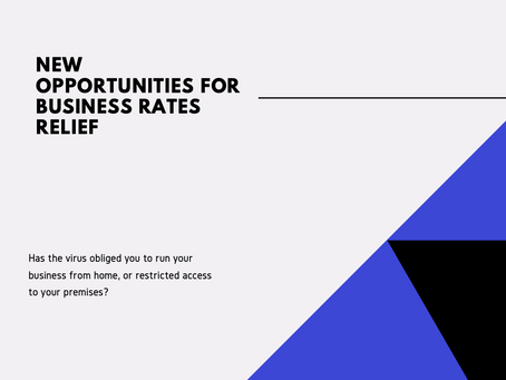 New opportunities for business rates relief