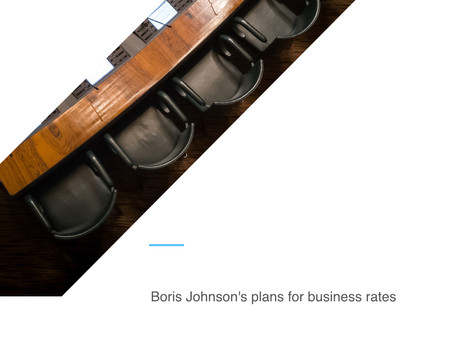 Boris Johnson's plans for business rates