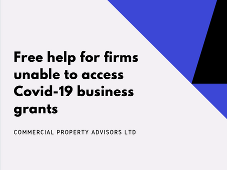 Free help for firms unable to access Covid-19 business grants