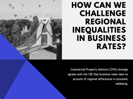 How can we challenge regional inequalities in business rates?
