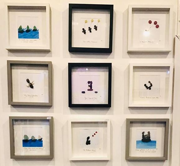 Mrs. Pebbles Personalized Pebble Art - Margaret Hennessy