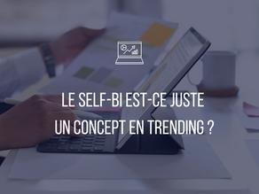 Le Self-BI est ce juste un concept en trending ?