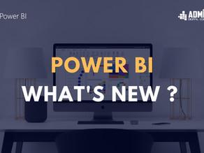 Power BI What's New ?