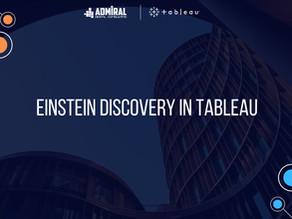Einstein Discovery in Tableau