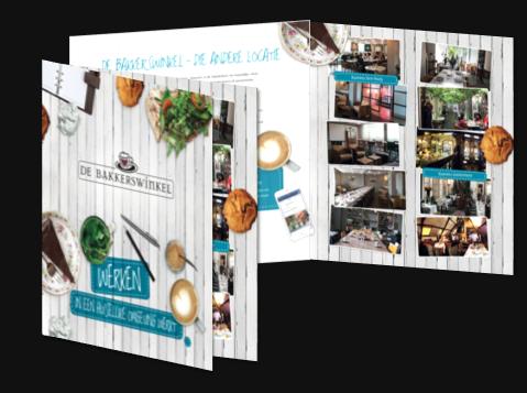 Zakelijke brochure De Bakkerswinkel