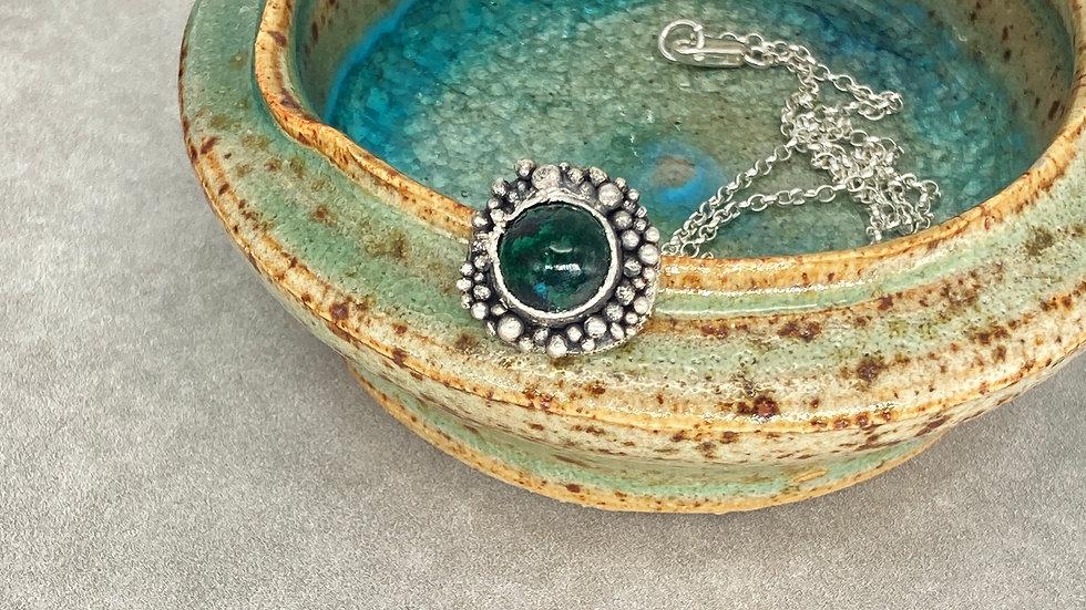 Chrysocolla Bubble Pendant